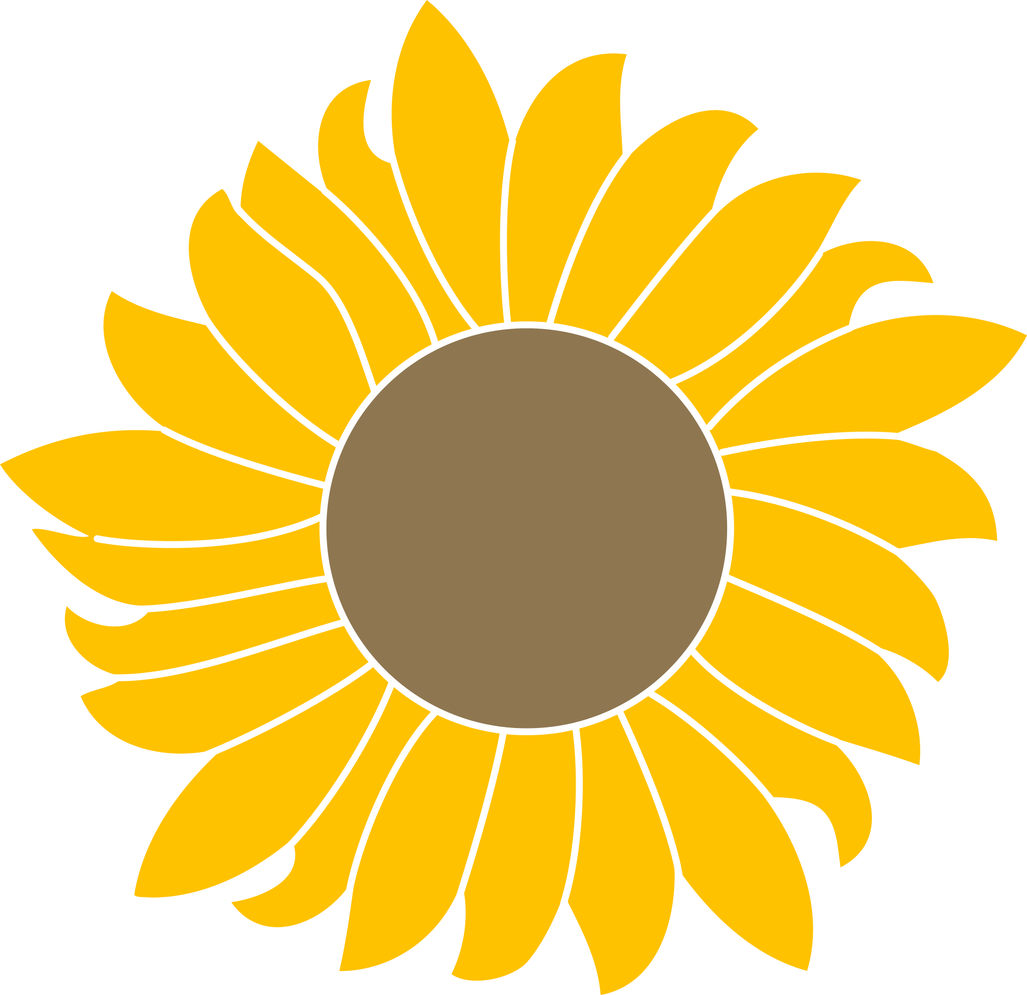 Common sunflower Scalable Vector Graphics Portable Network.