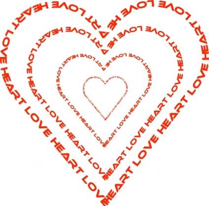 Heart Outline Vector.