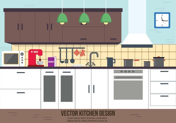 Kitchen Vector Design.