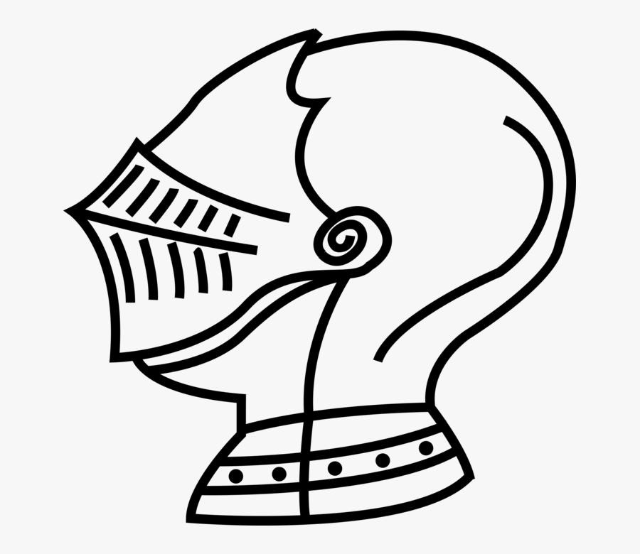 Vector Illustration Of Medieval Knight\