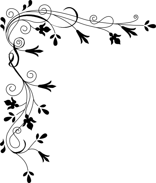 Decorative Plant Page Corner Clip Art At Clker Com Vector.