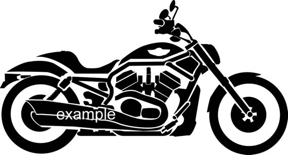 motorcycle clipart, harley svg, motorbike vector, Svg Eps.