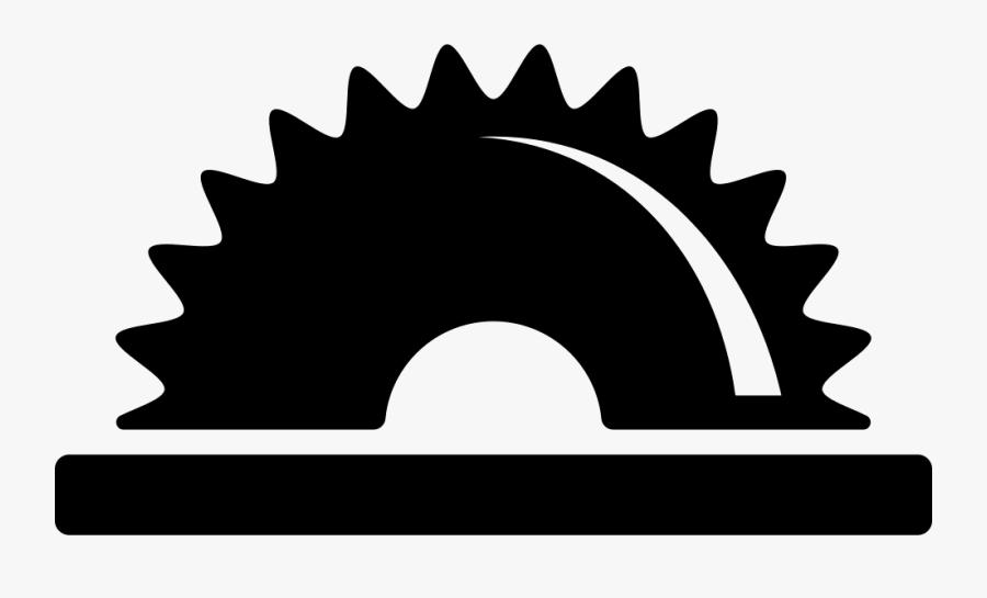 Half Cogwheel Symbol Png.