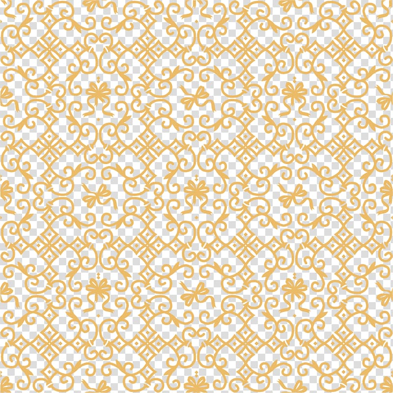 Yellow floral background, Pattern, Gold pattern background.