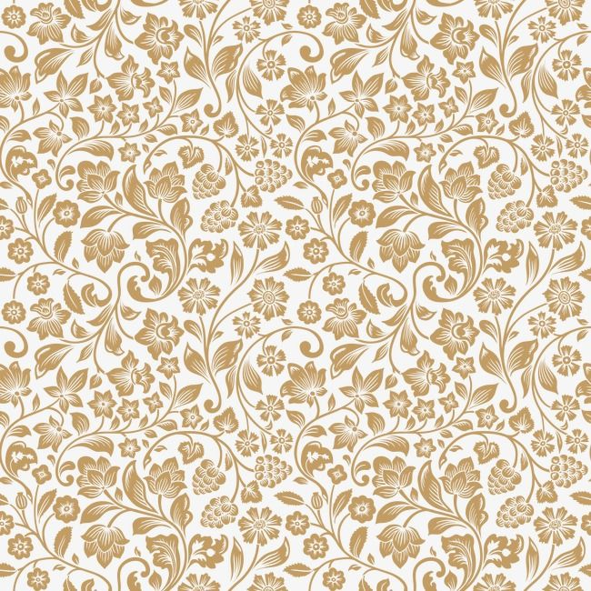 Vector Classical Pattern, Gold Gorgeous Patterns, Euporean.