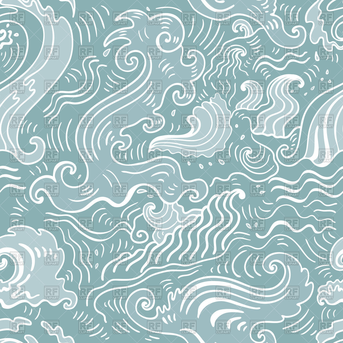 Seamless Wallpaper Pattern Vector Image Vector Illustration.