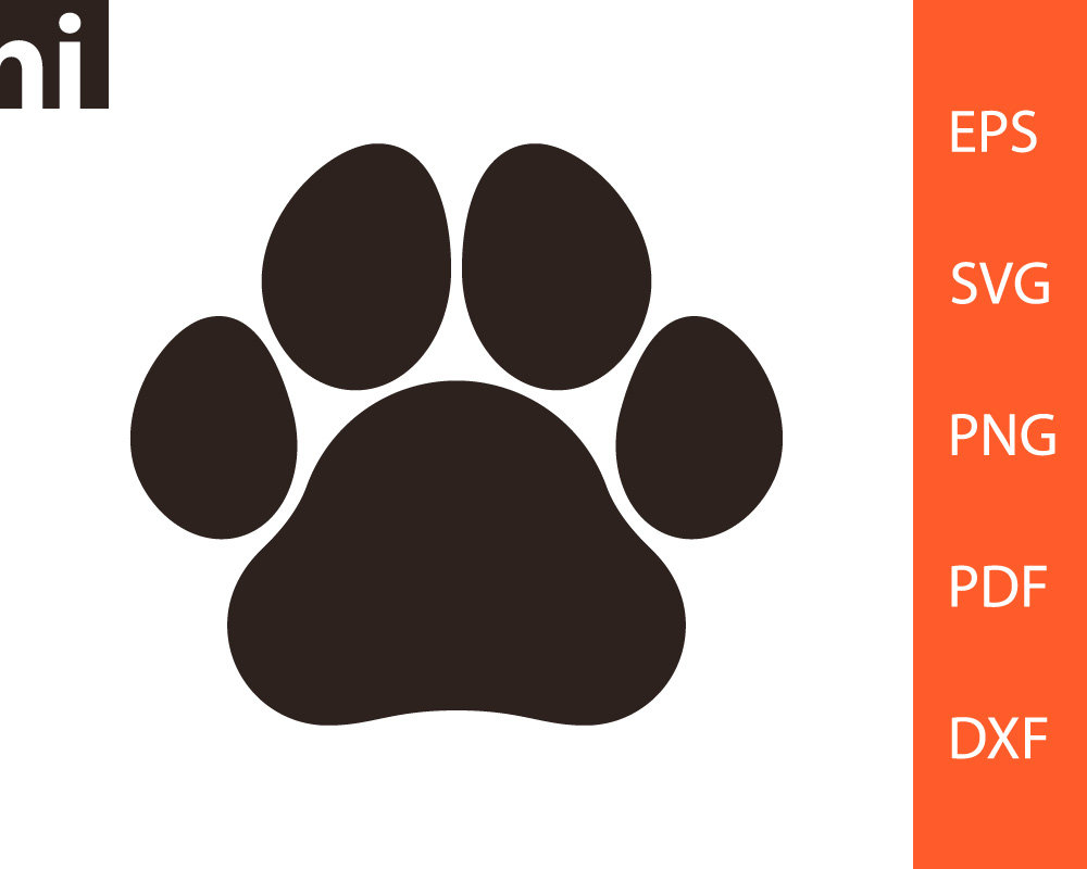 The best free Paw print vector images. Download from 4188.