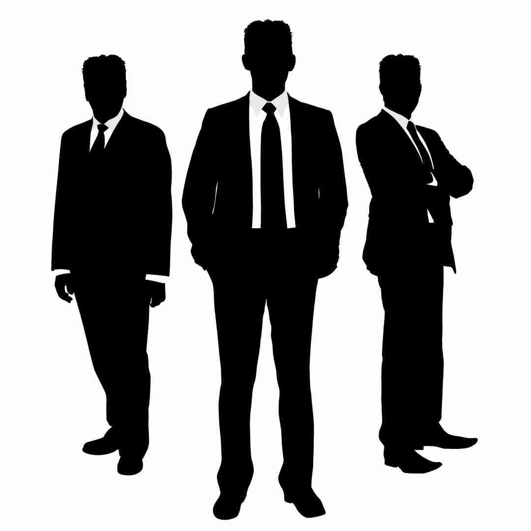 8888+ Cliparts: Business People Clipart Silhouette Man.