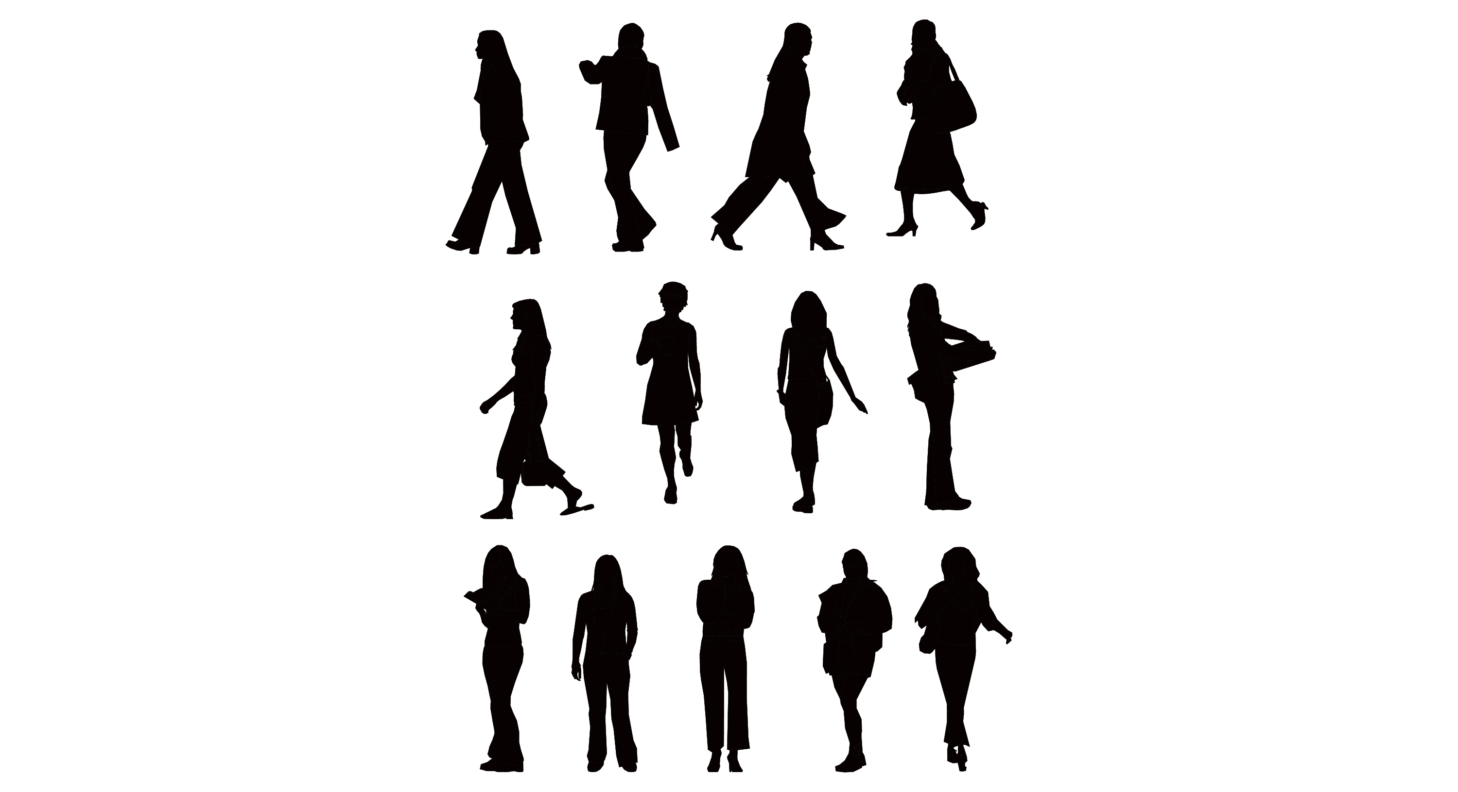 Free Vector People Silhouette, Download Free Clip Art, Free.