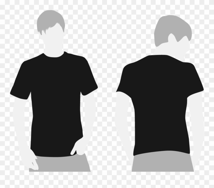 Vector Royalty Free Library Black Shirt Clipart.