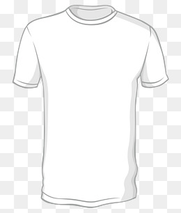 White T Shirt Clipart Png.