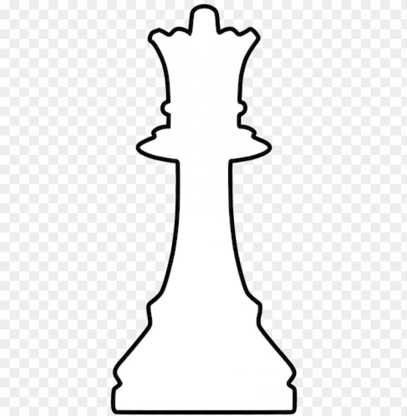 white silhouette chess piece public domain vectors.