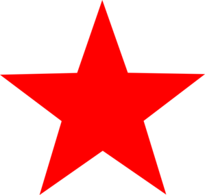 Red Star Clip Art at Clker.com.