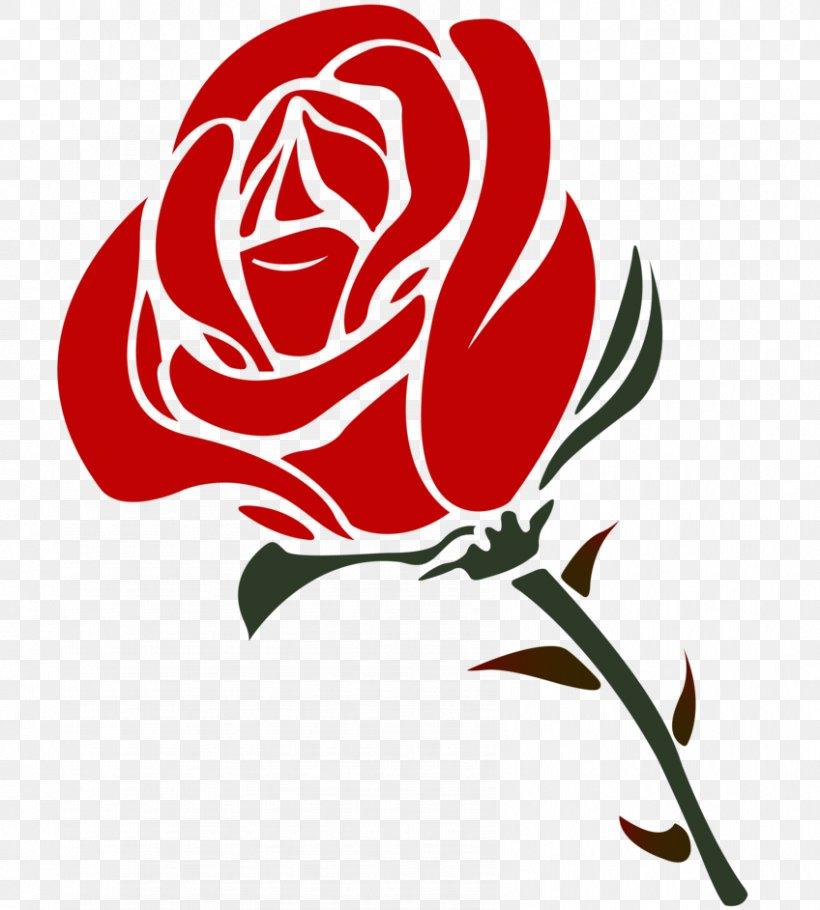 Rose Valentines Day Clip Art, PNG, 848x942px, Rose, Art.