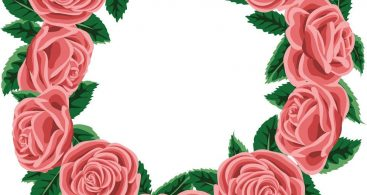 Vector Rose Wreath Vector Archives.