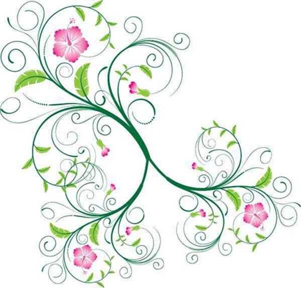 Vector Swirls and Floral Swirls.