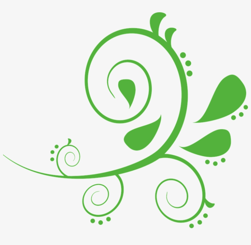 Embellishment Vector Vine Clipart.
