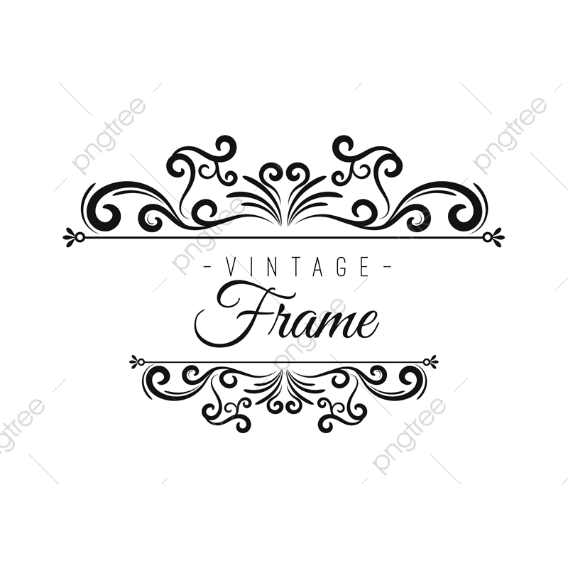 Vintage, Frame, Frames PNG and Vector with Transparent.