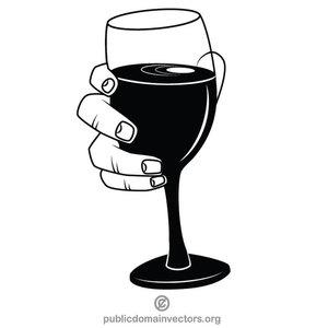 1295 free vector wine glass clip art.