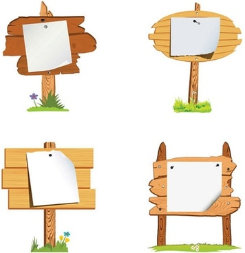 Wood sign vector free vector download (7,627 Free vector) for.
