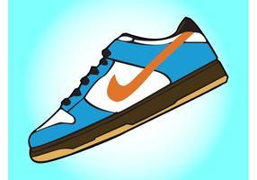 Sneakers Free Vector Art.