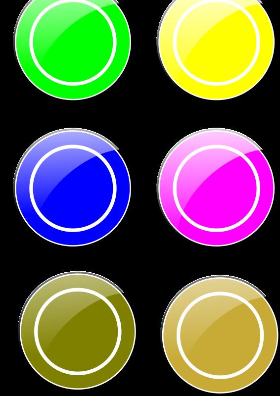 Free Clipart: Vectores de círculos.