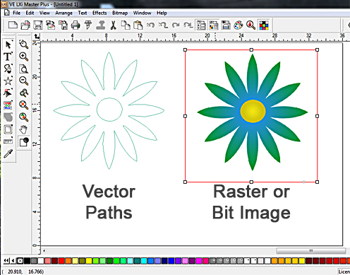 A Basic Guide to Vectorizing and Cutting Raster or Bit Image Clip.