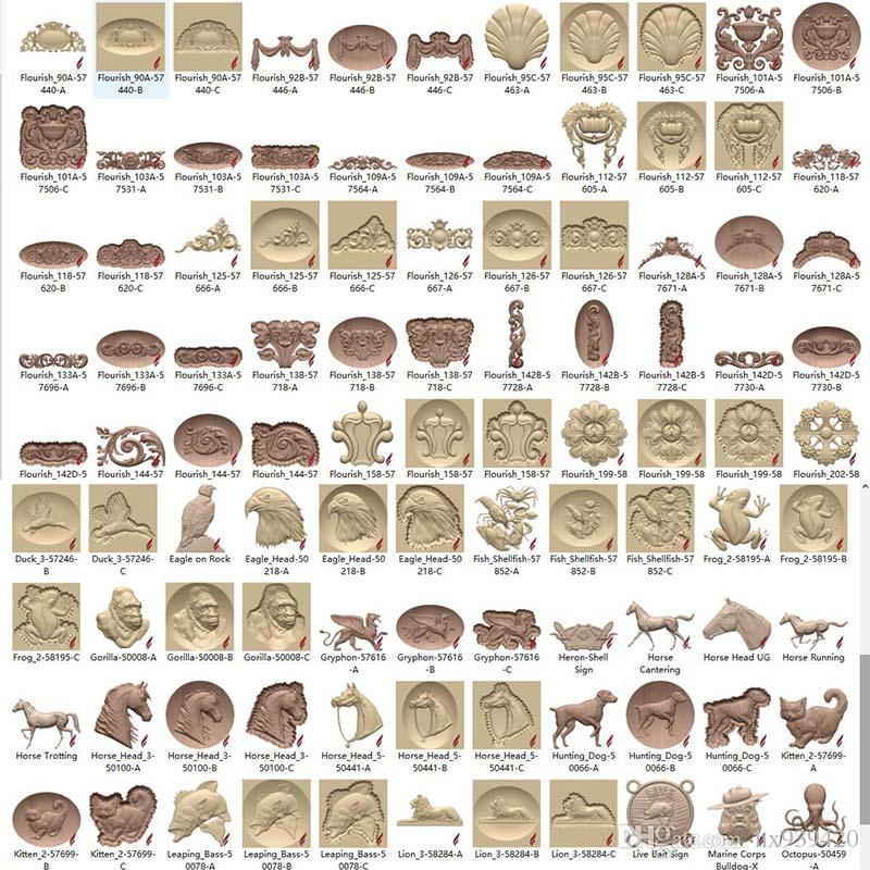 Vectric Aspire 3d Clipart Library Aspire Relief 3D Models Fast Delivery.
