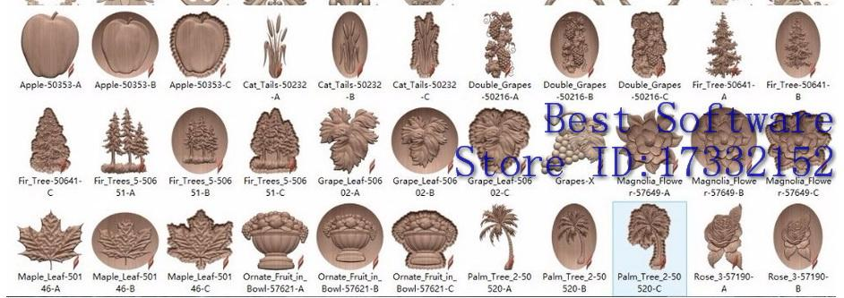 2017 Vectric Aspire 3d Clipart Library Aspire Relief 3d Models Up To 3.7gb  In Total Fast Delivery From Tinyan, $16.09.