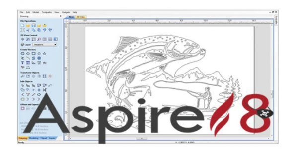 Free Download Vectric Aspire 8 Clipart Full Software.