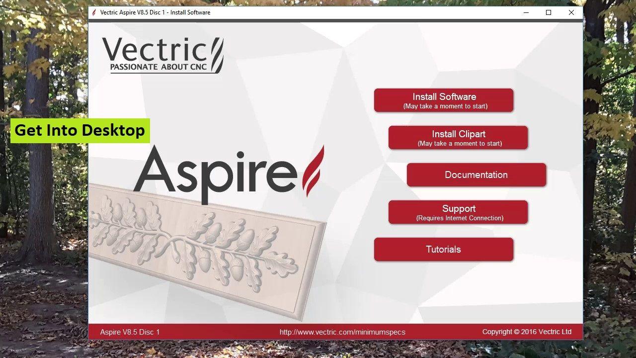 Vectric Aspire 9.015 + Bonus Portable Clipart Free Download.