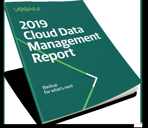2019 Veeam Cloud Data Management Report.