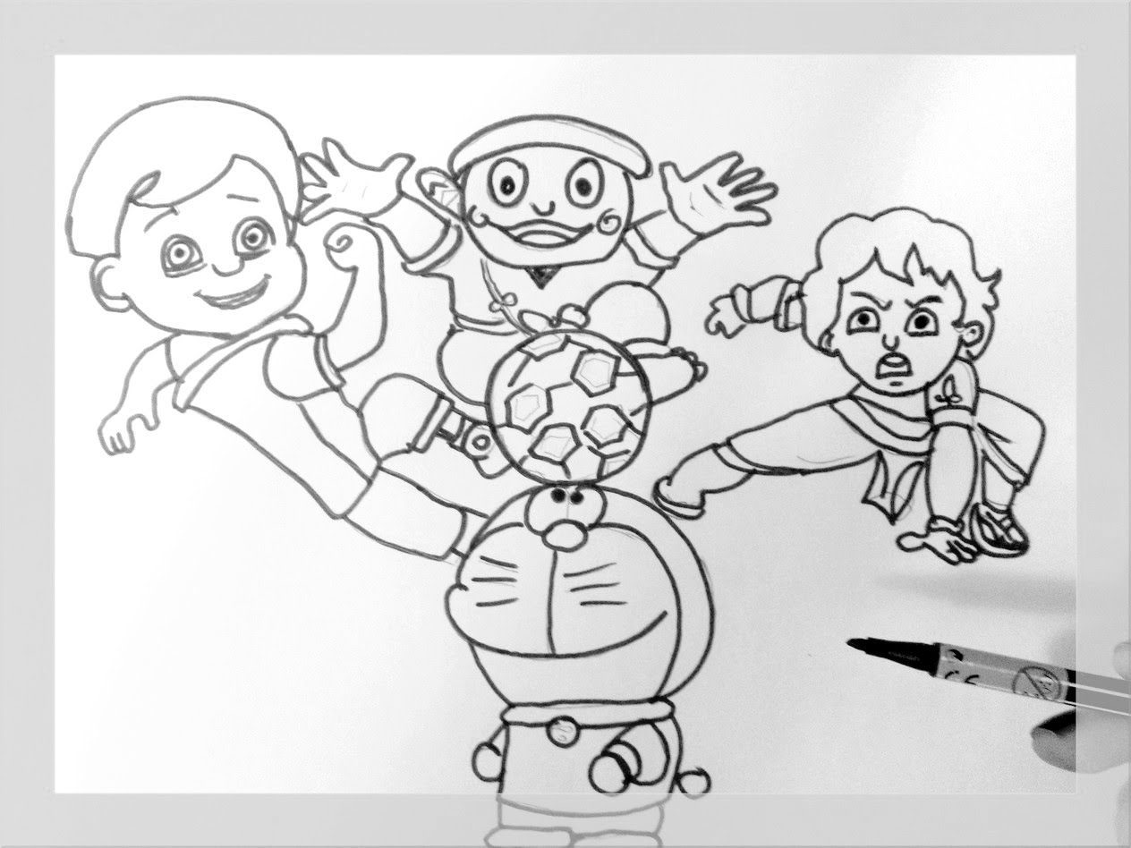 Veer The Robot Boy Coloring Pages.