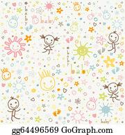 Baby Background Clip Art.
