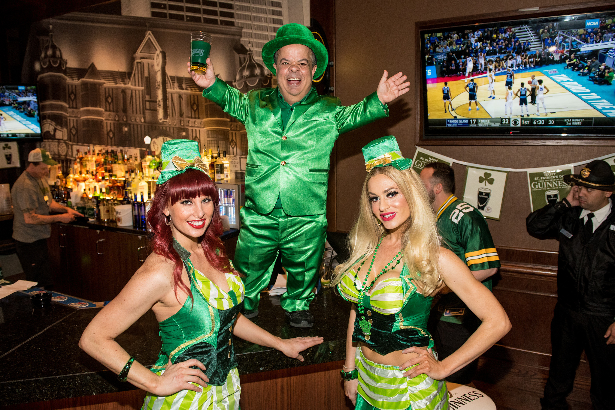 St. Patrick\'s Day In Las Vegas.