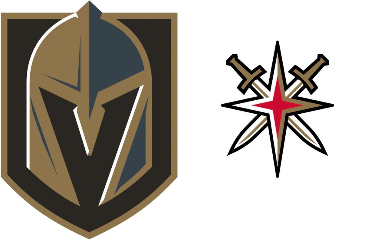 Vegas golden knights Logos.