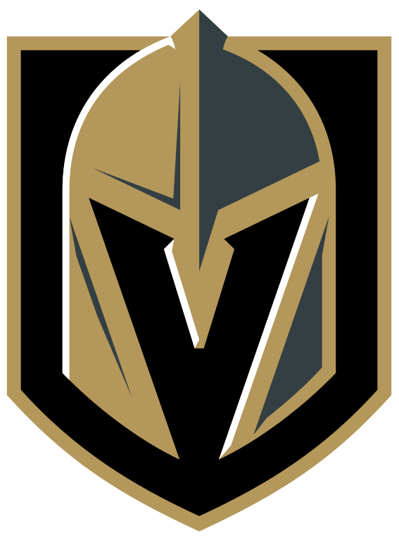 Vegas Golden Knights Official Logo transparent PNG.