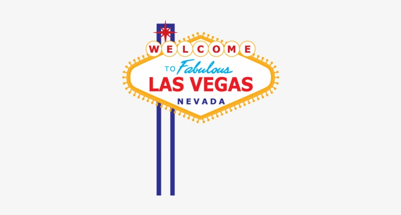 Las Vegas Sign Transparent.