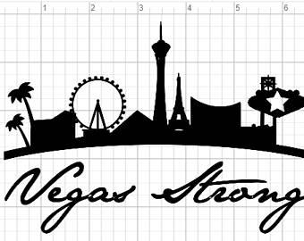 Vegas strong Logos.