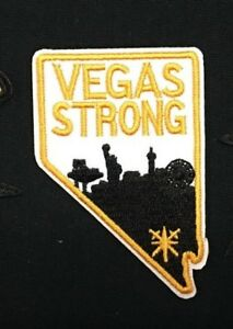 Details about LAS VEGAS GOLDEN KNIGHTS VEGAS STRONG NEVADA LOGO JERSEY IRON  ON PATCH 2\