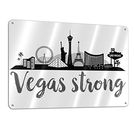 Amazon.com: Lkbihl We are Las Vegas We are Strong Logo.