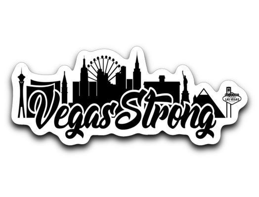 Vegas Strong Sticker.