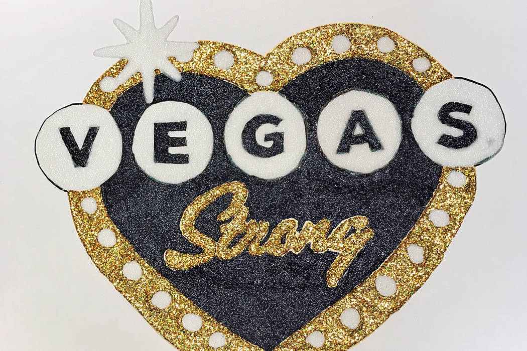 """Gallery shows local interpretations of """"Vegas Strong."""