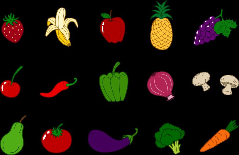 Clip Art. Vegetables Clip Art. Stonetire Free Clip Art Images.
