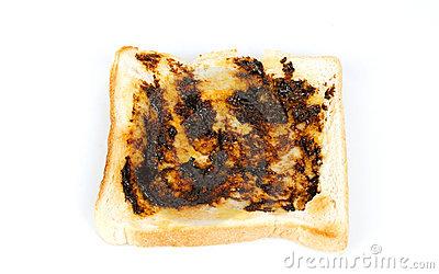Vegemite On Toast Stock Image.
