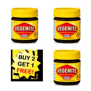 Vegemite Products.