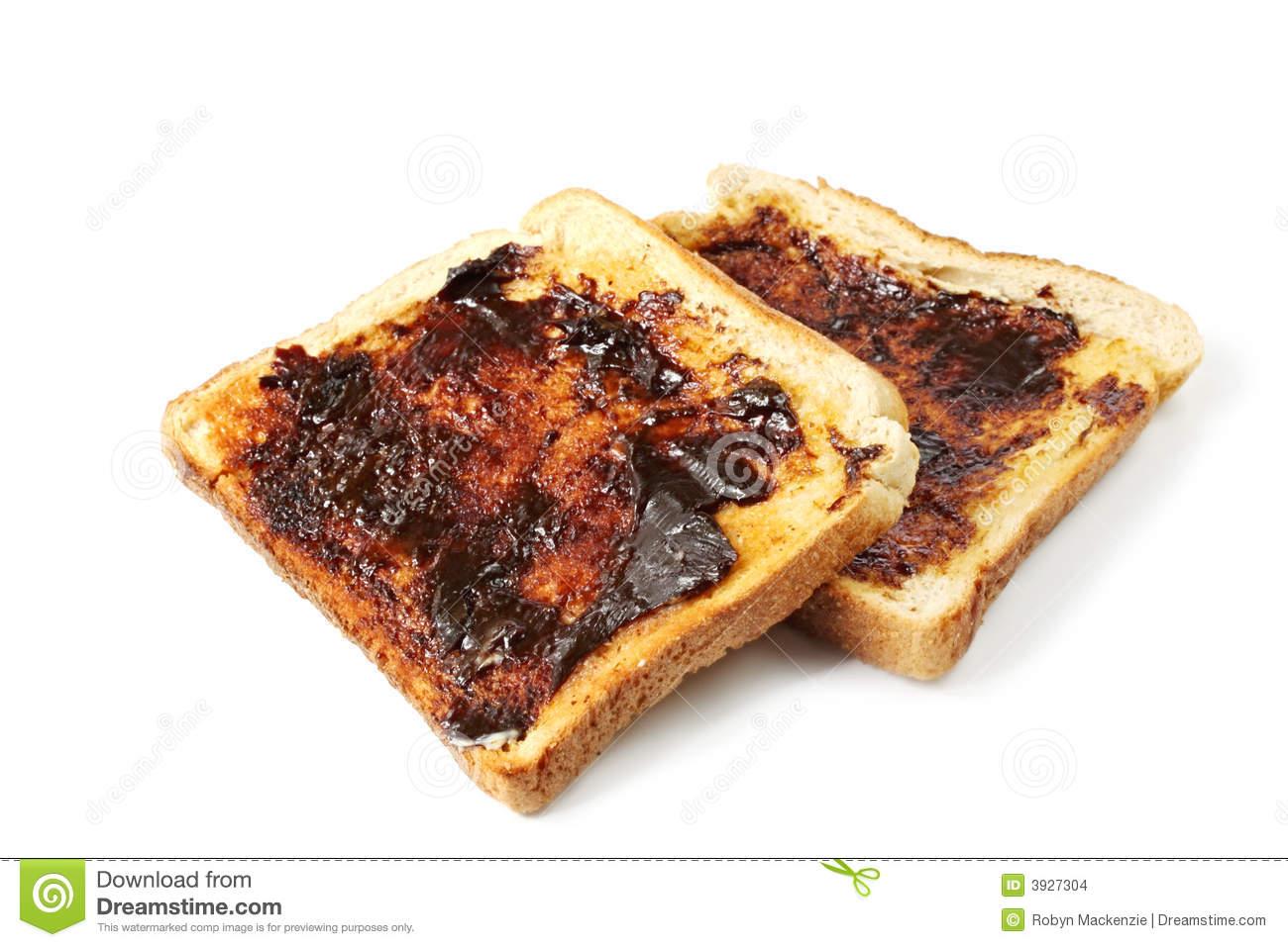 Vegemite Toast Stock Images.