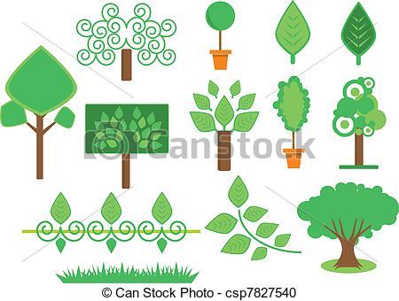 Vegetação Vetores Gráficos Clip Art. 10.717 Vegetação Clip Art e.