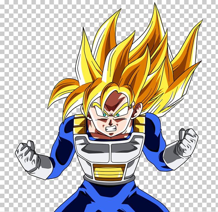 Gohan Goku Vegeta Trunks Piccolo, long hair PNG clipart.