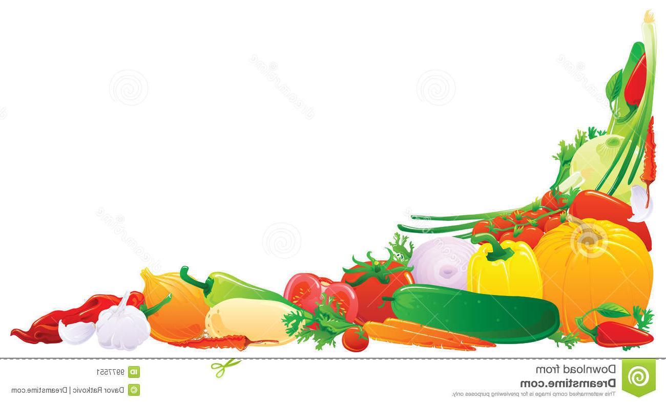 HD Vegetable Garden Border Clipart Vector File Free » Free.
